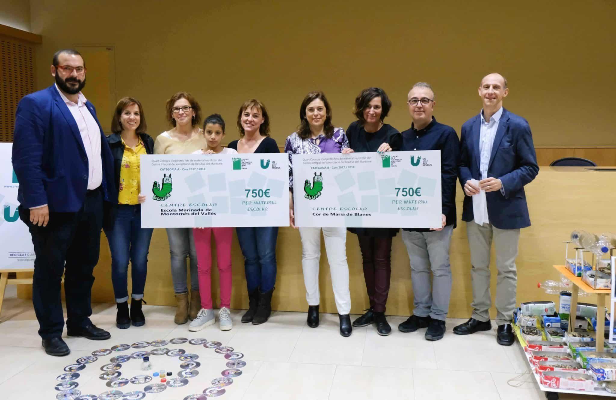 Concurs 2017-18 entrega premis